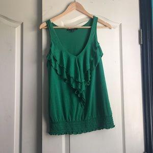 Beautiful green business casual top